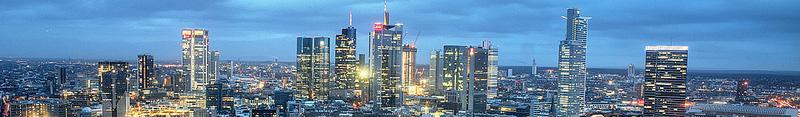 Flughafentransfer-Frankfurt-Skyline